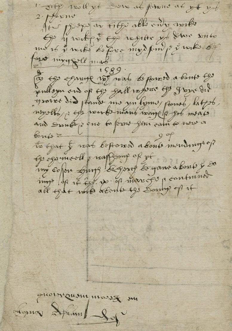 An Almanach for the yere 1562, Sutton, mss notes